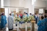 В праздник Успения епископ Нестор совершил Литургию в Троицком кафедральном соборе