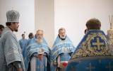 В день своей архиерейской хиротонии епископ Нестор совершил Божественную литургию в Троицком кафедральном соборе