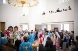 В праздник Покрова Пресвятой Богородицы епископ Нестор совершил Божественную литургию в кафедральном соборе епархии