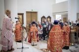 В неделю 6-ую по Пасхе епископ Корсунский Нестор совершил Божественную литургию в Троицком соборе в Париже