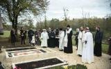 В сороковой день упокоения архимандрита Варсонофия (Феррье) епископ Нестор совершил Божественную литургию и панихиду в женском монастыре в Грассак