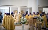 Митрополит Ставропольский Кирилл совершил Божественную литургию в Троицком соборе в Париже