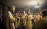 В канун престольного праздника митрополит Антоний совершил всенощное бдение в Трехсвятительском храме в Париже
