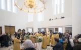 В неделю Торжества Православия епископ Нестор совершил Литургию в Троицком соборе в Париже