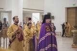 В Троицком кафедральном соборе торжественно отметили годовщину хиротонии епископа Корсунского Нестора