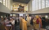 В Монако совершена первая Божественная литургия архиерейским чином