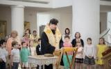 Благодарственный молебен об окончании учебного года детской приходской школы при Троицком соборе в Париже