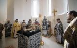 В Великий Понедельник в Троицком соборе совершена Литургия Преждеосвященных Даров и диаконская хиротония