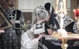 В Великую Среду епископ Нестор совершил Литургию Преждеосвященных Даров и диаконскую хиротонию