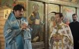 Епископ Нестор совершил Божественную литургию в храме Духовно-образовательного центра им. прп. Женевьевы Парижской