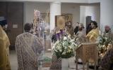 В Великий Четверг епископ Корсунский Нестор совершил Божественную литургию в кафедральном соборе епархии