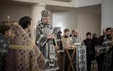 Епископ Нестор совершил утреню Великого Пятка с чтением двенадцати Страстных Евангелий в Троицком соборе в Париже