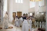 В Великую Субботу епископ Нестор совершил Божественную литургию в Троицком соборе в Париже