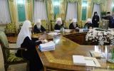 Состоялось заключительное в уходящем году заседание Священного Синода Русской Православной Церкви