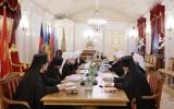Епископ Корсунский Нестор принял участие в заседании Священного Синода
