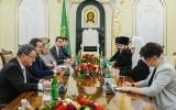 Святейший Патриарх Кирилл встретился с председателем Совета кантонов Швейцарской Конфедерации