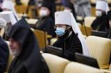 Патриарший экзарх принял участие в пленарном заседании IX Парламентских встреч