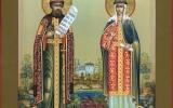 В Свято-Троицком кафедральном соборе почтили память свв. благоверных князей  Петра и Февронии