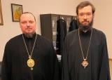 Митрополит Антоний встретился с епископом Кафским Алексием