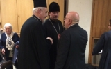 Епископ Нестор принял участие в торжественном годичном акте Свято-Сергиевского богословского института