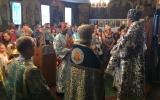 Управляющий Корсунской епархии совершил Божественную литургию в кафедральном храме епархии в Париже