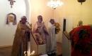 Поклонение мощам Свт. Николая в Базилике Свт. Николая в Сен-Николя де Пор