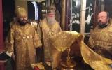 Митрополит Волоколамский Иларион совершил Божественную литургию в Крестовоздвиженском соборе Женевы