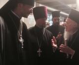 Клирики Корсунской епархии передали поздравления правящего архиерея Патриарху Константинопольскому Варфоломею