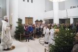 В Троицком соборном храме совершена первая рождественская Божественная литургия