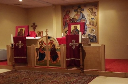 Приход в честь святителя Григория Паламы и мученицы Атталии в Страсбурге