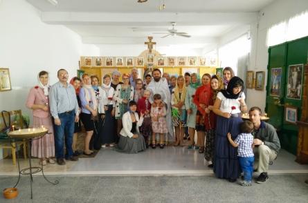 Приход в честь преподобного Иова Почаевского в Мурсии