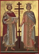 равноапостольных царей Константина и Елены
